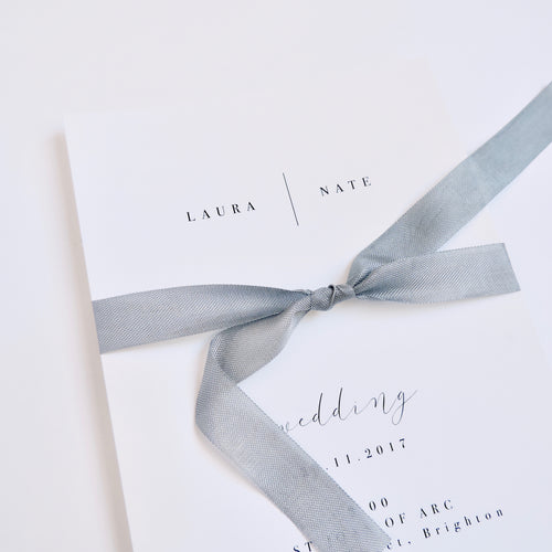 Emma Smith Event Stationery Pure Invitation 3