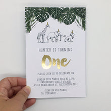 Emma Smith Event Stationery Safari Luxe Invitation 3