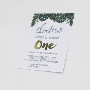 Emma Smith Event Stationery Safari Luxe Invitation 4
