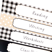 Farmhouse Theme Teacher Stationery Printable Download