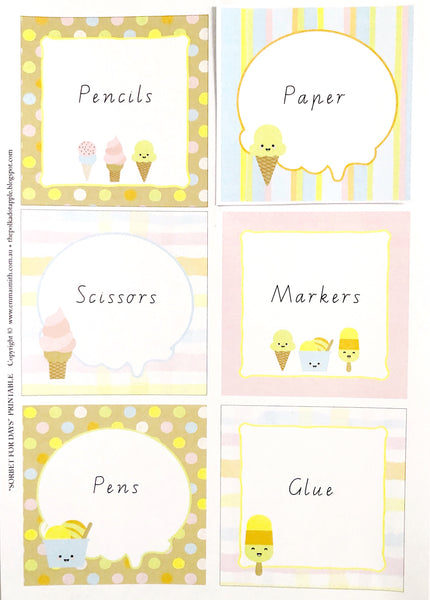 Sorbet For Days - Classroom and Decoration Bundle