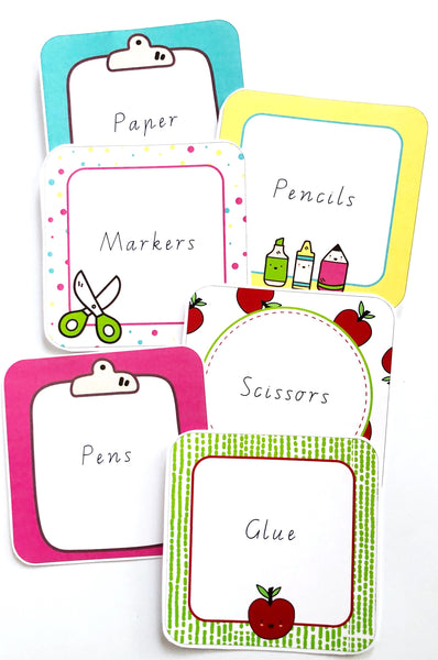 Bright Fun Classroom Decor Printable Download Labels