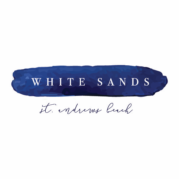 Emma Smith Event Stationery Logo Design | White Sands Beach House