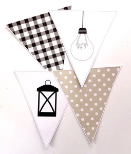 Farmhouse Theme Classroom Decor Printable Download Bunting