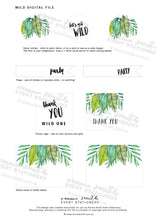Emma Smith Event Stationery Wild One Digital File1