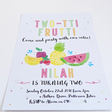 Emma Smith Event Stationery Tutti Fruitti Invitation 3