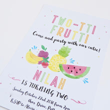 Emma Smith Event Stationery Tutti Fruitti Invitation 2