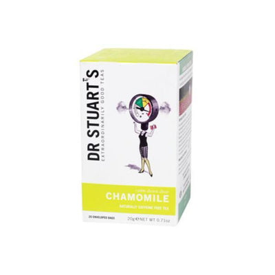 Dr Stuarts Chamomile Herbal Tea 15 Bags (Pack of 4)