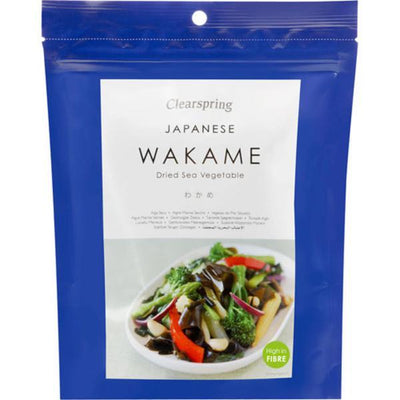 Clearspring Wakame Sea Vegetable 50g