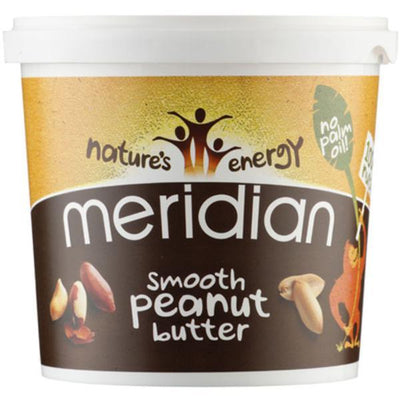 Meridian Peanut Butter - Smooth 100% Nuts 1Kg