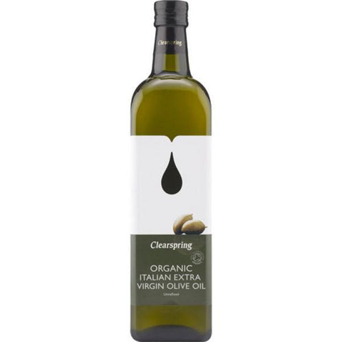 Clearspring Extra Virgin Italian Olive Oil - Organic 1lt