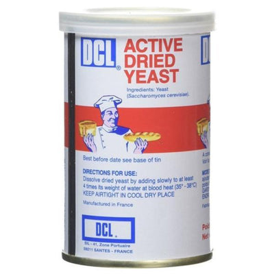 Dcl Dried Yeast - Tin 125g