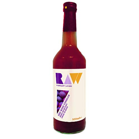 Raw Health Red Wine Vinegar with the Mother Organic 500ml