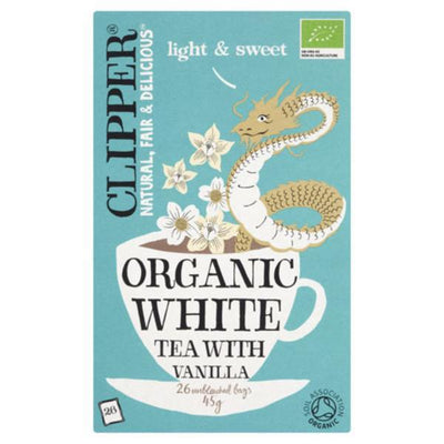 Clipper White Tea & Vanilla - Organic 25 Bags