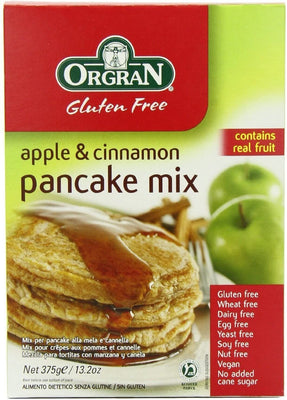 Orgran - Gluten Free Apple & Cinnamon Pancake Mix 375g