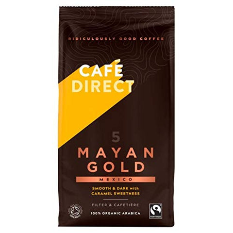 Cafe Direct - Fair Trade FT Mayan Gold Roast & Ground Coffee 227g
