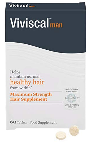 Viviscal Maximum Strength Mens Hair Supplement 60tabs