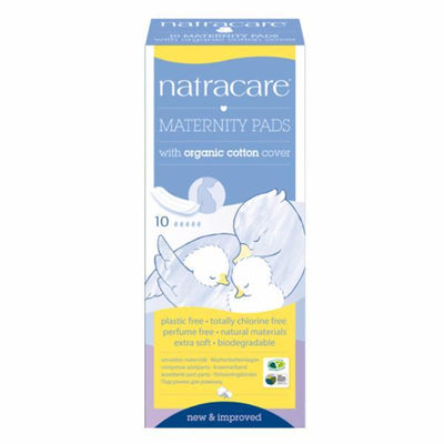 Natracare Organic Maternity Pads - 10s