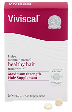 Viviscal Maximum Strength Hair Supplement 60tabs