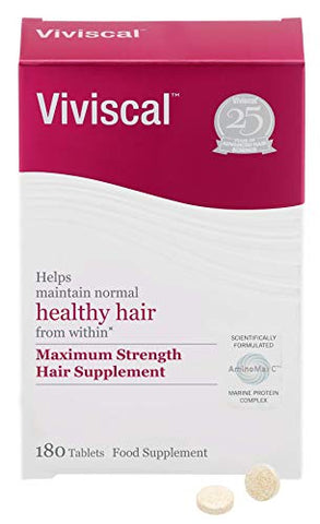 Viviscal Maximum Strength Hair Supplement 180tabs