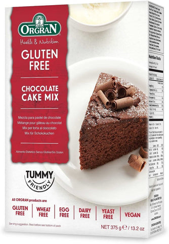 Orgran - Gluten Free Chocolate Cake Mix 375g