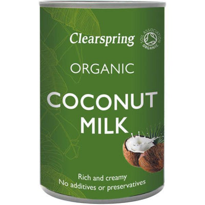 Clearspring Organic Coconut Milk 400ml (Pack of 6)