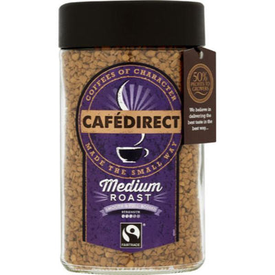 Cafe Direct Instant Coffee - Premium Classic Blend 100g