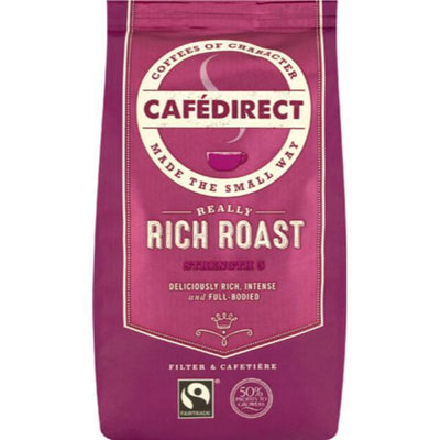 Cafe Direct Roast & Ground Coffee - Rich 227g