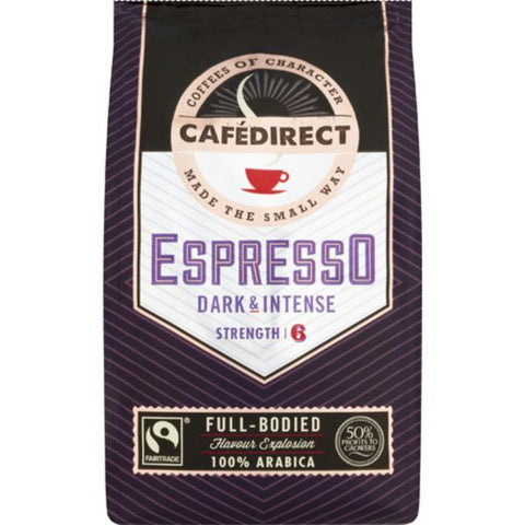 Cafe Direct Roast & Ground Coffee - Espresso 227g