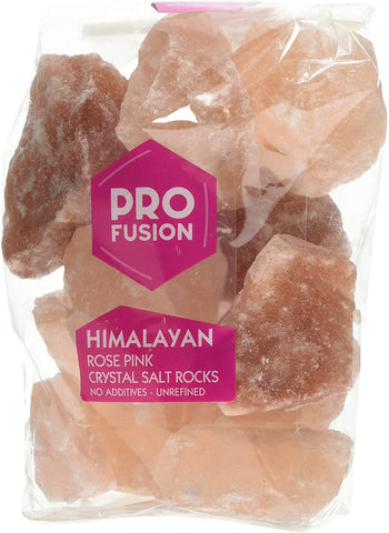 Profusion Himalayan Rose Pink Salt - Rocks 1kg