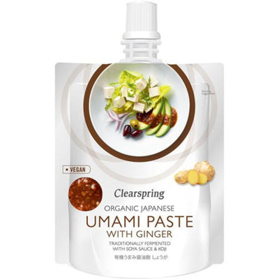 Clearspring Organic Umami Paste with Ginger 150g
