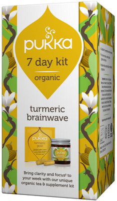 Pukka Organic 7 day kit - Night Time 14 Capsules and 7 Tea Sachets
