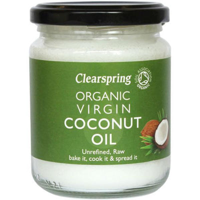 Clearspring Organic Virgin Coconut Oil 200g
