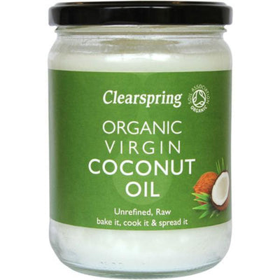 Clearspring Organic Virgin Coconut Oil 400g