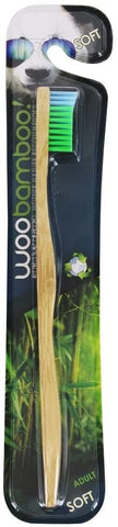 Woobamboo Standard Handle Soft Single Eco-Friendly Biodegradable Toothbrush
