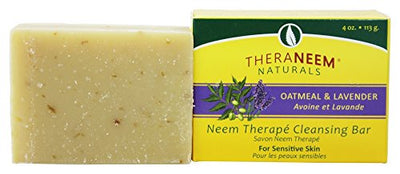 Theraneem Oatmeal Lavender & Neem Oil Soap Bar Vegan 118ml