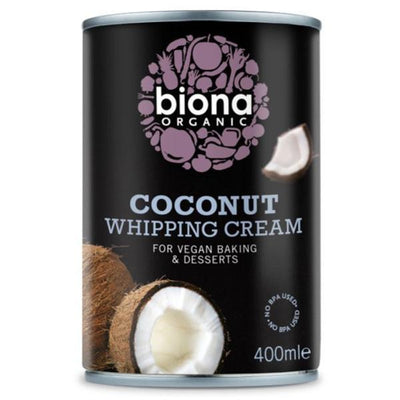 Biona Organic Coconut Whipping Cream 400ml