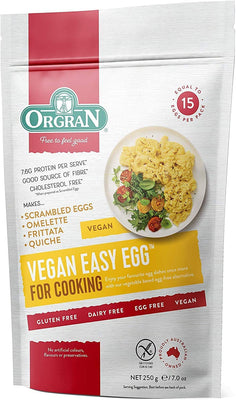 Orgran Vegan Easy Egg Pouch 250g