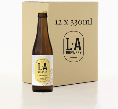 La Brewery Citrus Hops 330ml (Pack of 12)