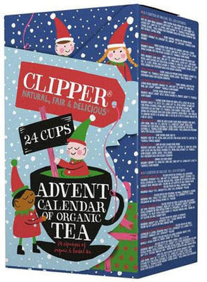 Clipper Organic Advent Calendar 24Bags (Pack of 4)