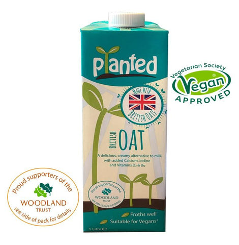 Planted British Oat Drink 1ltr (Pack of 6)