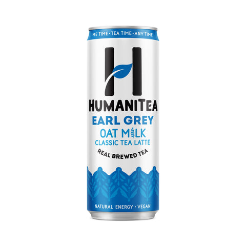 Humanitea Earl Grey Oat Milk Classic Tea Latte 250ml (Pack of 12)