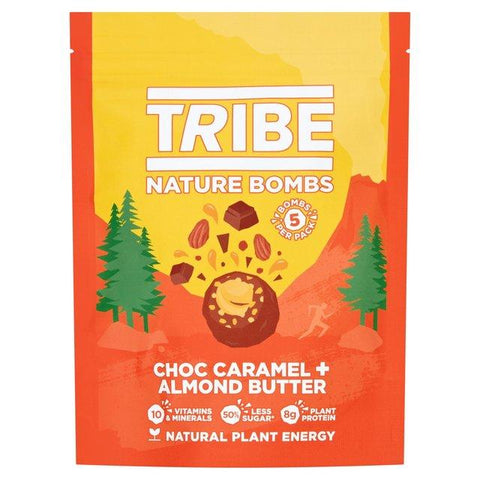 Tribe Vegan Honeycomb + Almond Butter Nature Bomb Sharing 100g (Pack of 7)