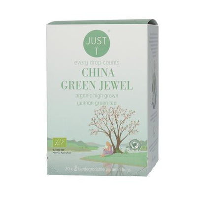 Just T China Green Jewel Organic 20bags