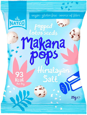 Makana Pops Himalayan Salt Flavoured Makana Pops 25g (Pack of 12)