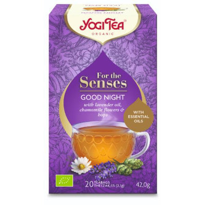 Yogi Tea For The Senses Good Night 20bags