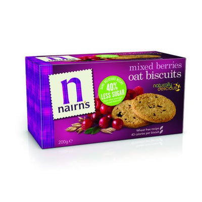 Nairns Mixed Berries Biscuits - Wheat Free 200g