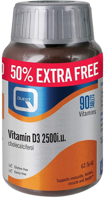 Quest Vitamin D3 2500iu