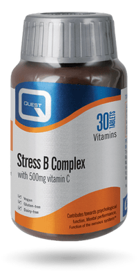 Quest Stress B Complex with 500mg Vitamin C