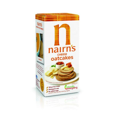 Nairns Cheese Oatcakes - Fairtrade 200g